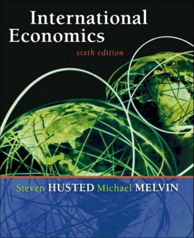 International Economics  6th 2004 (Revised) edition cover