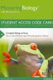 MasteringBiology with Pearson EText -- Standalone Access Card -- for Campbell Biology in Focus   2014 edition cover