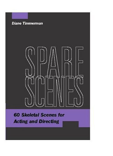 Spare Scenes 60 Skeletal Scenes for Acting and Directing  2004 edition cover