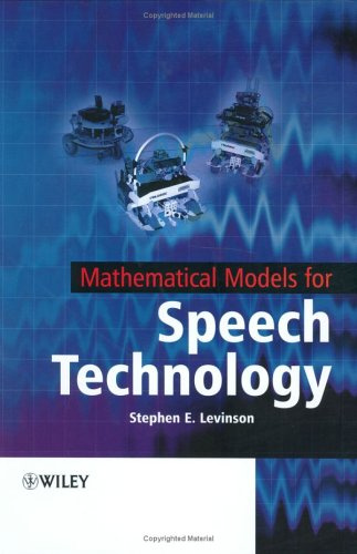 Mathematical Models for Speech Technology   2005 edition cover