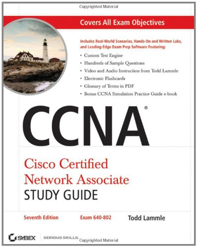 CCNA Cisco Certified Network Associate 7th 2011 (Guide (Pupil's)) edition cover