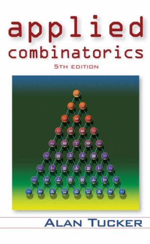 Applied Combinatorics  5th 2007 (Revised) edition cover