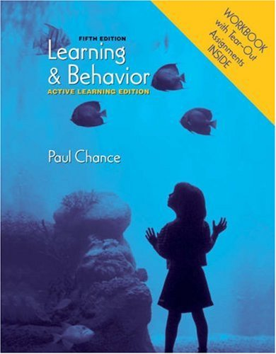 Learning and Behavior Active Learning Edition 5th 2006 edition cover