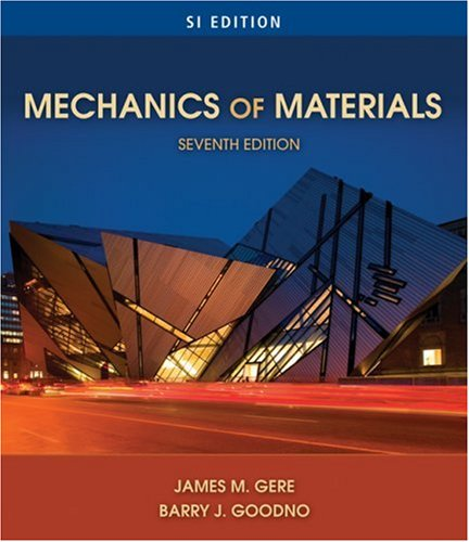 Mechanics of Materials  7th 2009 edition cover