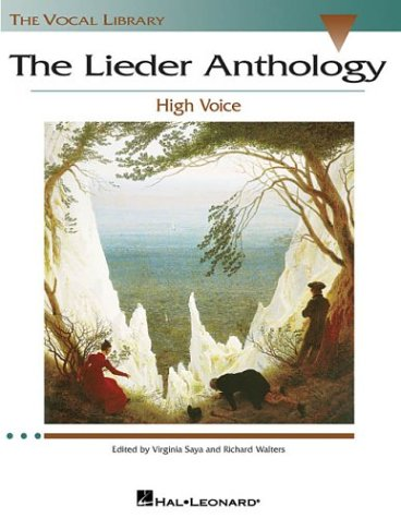 Lieder Anthology - High Voice  N/A edition cover
