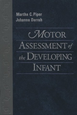 Motor Assessment of the Developing Infant   1994 edition cover