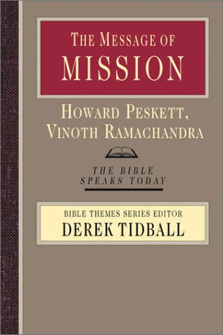 Message of Mission The Glory of Christ in All Time and Space  2003 edition cover