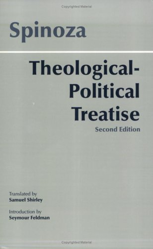 Spinoza Theological-Political Treatise 2nd 2001 edition cover