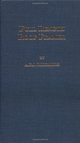 Full Length Roof Framer 1st (Reprint) 9780899669076 Front Cover