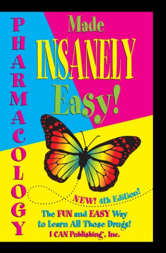 Pharmacology Made INSANELY Easy!:   2013 edition cover