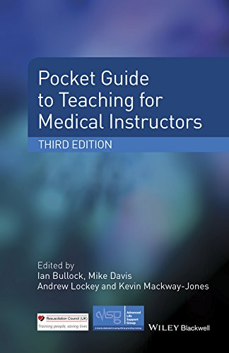 Pocket Guide to Teaching for Medical Instructors  3rd 2015 9781118860076 Front Cover