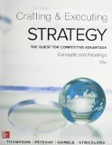 Crafting and Executing Strategy: Concepts and Readings  2015 edition cover