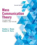 Mass Communication Theory: Foundations, Ferment, and Future  2014 edition cover