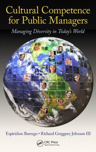 Cultural Competence for Public Managers Managing Diversity in Today's World  2011 edition cover
