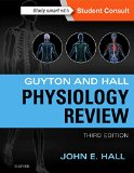 Guyton and Hall Physiology Review  3rd 2015 edition cover