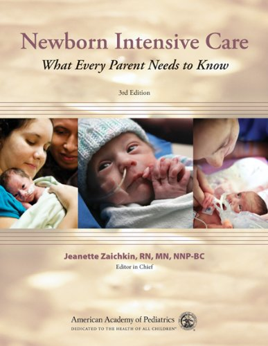 Newborn Intensive Care What Every Parent Needs to Know 3rd 2010 edition cover