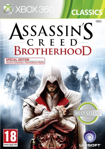 Assassins Creed Brotherhood - Classic [AT PEGI] Xbox 360 artwork