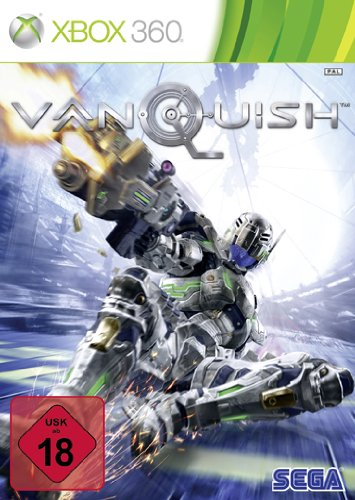 Vanquish (uncut) Xbox 360 artwork