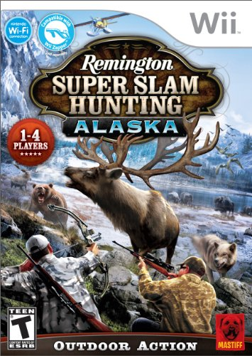 Remington Super Slam Hunting Alaska Wii Nintendo Wii artwork