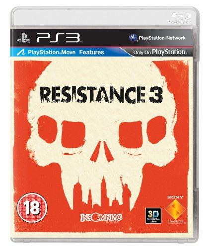 Resistance 3 (PS3) PlayStation 3 artwork