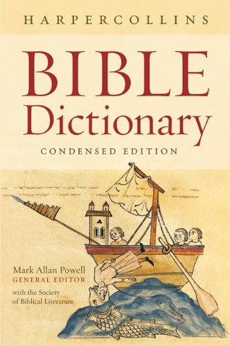 Bible Dictionary  N/A 9780061469077 Front Cover