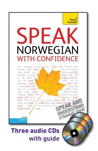 Speak Norwegian with Confidence  2nd 2010 9780071736077 Front Cover