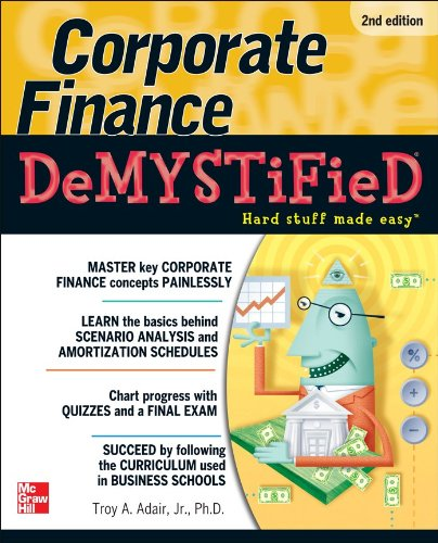 Corporate Finance  2nd 2011 9780071749077 Front Cover