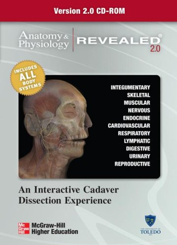 Anatomy and Physiology Revealed Version 2. 0 CD   2008 edition cover