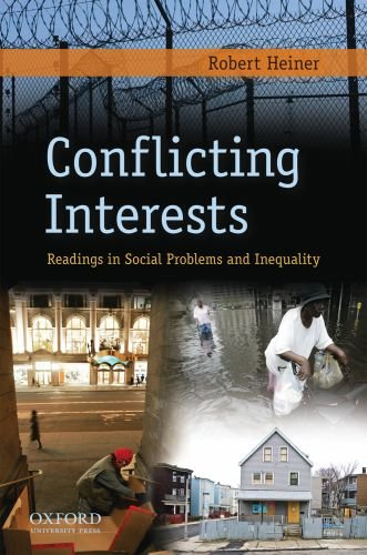 Conflicting Interests Readings in Social Problems and Inequality  2009 edition cover