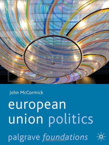 European Union Politics   2011 edition cover