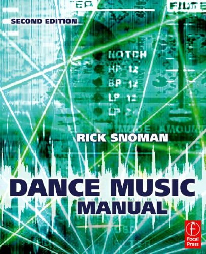 Dance Music Manual Tools. Toys and Techniques 2nd 2009 (Revised) 9780240521077 Front Cover