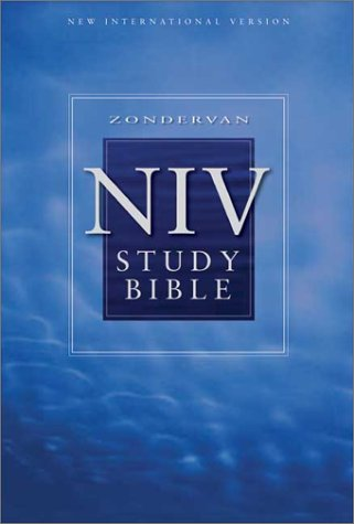 Zondervan NIV Study Bible Personal Size  2002 (Revised) edition cover