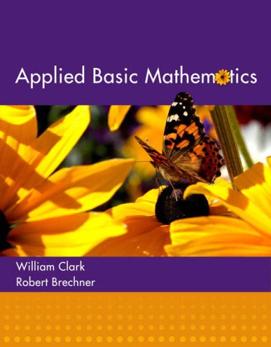 Applied Basic Mathematics   2008 9780321194077 Front Cover