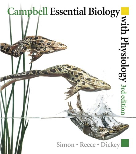 Campbell Essential Biology with Physiology  3rd 2010 edition cover