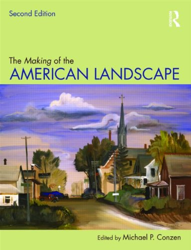 Making of American Landscape  2nd 2010 (Revised) edition cover