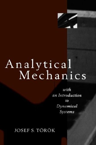 Analytical Mechanics With an Introduction to Dynamical Systems  2000 edition cover