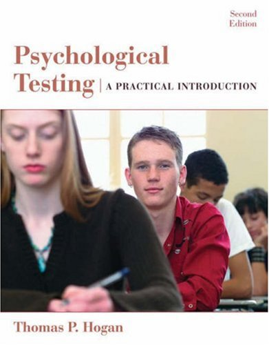 Psychological Testing A Practical Introduction 2nd 2007 (Revised) edition cover