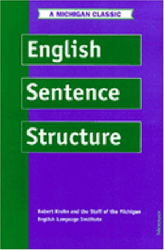 English Sentence Structure  4th (Revised) edition cover