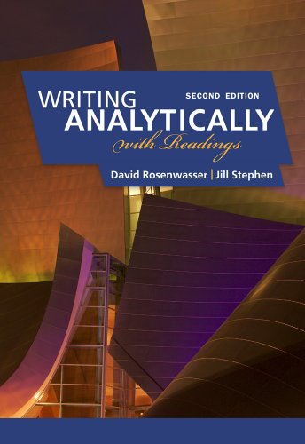 Writing Analytically with Readings  2nd 2012 9780495910077 Front Cover
