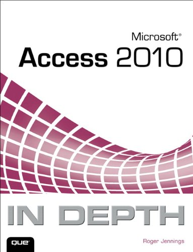 Microsoft Access 2010 in Depth   2011 9780789743077 Front Cover