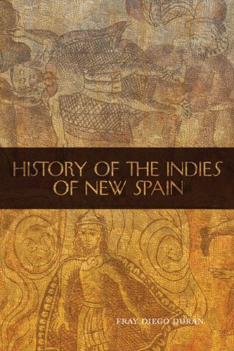 History of the Indies of New Spain  N/A edition cover
