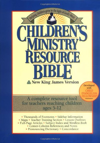 Children's Ministry Resource Bible Helping Children Grow in the Light of God's Word  1994 edition cover