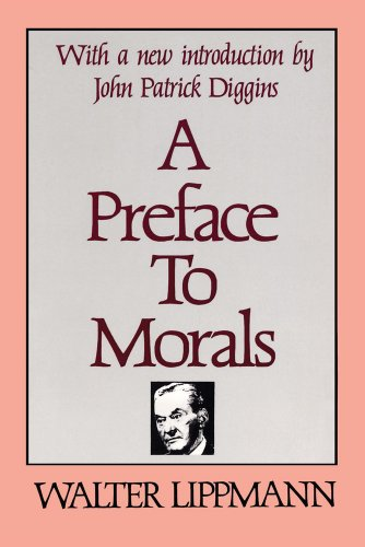 Preface to Morals   1982 (Reprint) edition cover