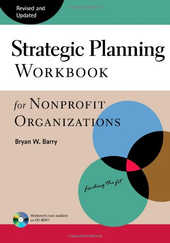 Strategic Planning Workbook for Nonprofit Organizations Revised and Updated 2nd 1997 (Revised) edition cover