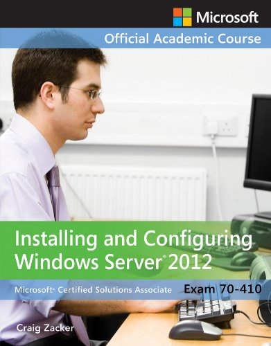 Exam 70-410 Installing and Configuring Windows Server 2012   2014 edition cover