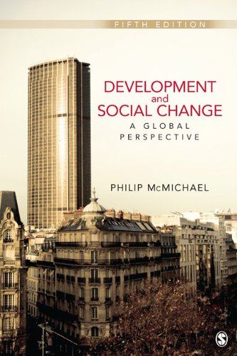 Development and Social Change A Global Perspective 5th 2012 edition cover