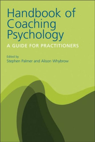 Handbook of Coaching Psychology A Guide for Practitioners  2008 edition cover