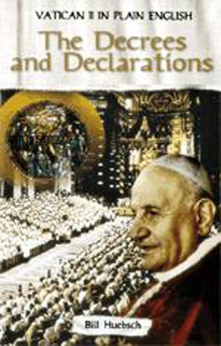 Decrees and Declarations Vatican Ii in Plain English Volume Three   2007 edition cover