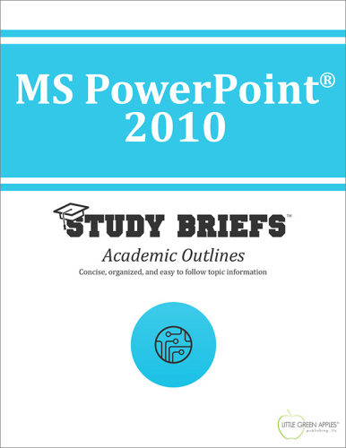 MS PowerPoint® 2010 1st 9781634260077 Front Cover