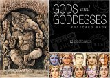 Gods and Goddesses Postcard Book  N/A 9781932771077 Front Cover